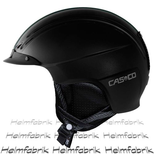 Skihelm Casco Powder, schwarz matt, Gr. M (56-59 cm)