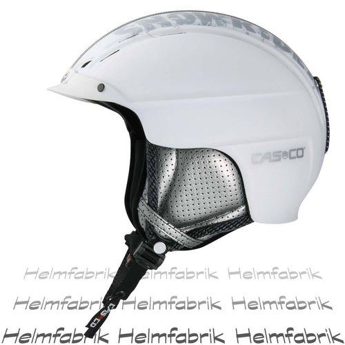 Skihelm Casco Powder, weiß matt, Gr. M (56-59 cm)