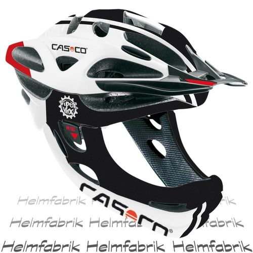Downhill Helm Casco Viper MX mit Kinnbügel, Competition, Gr. M (52-57 cm)