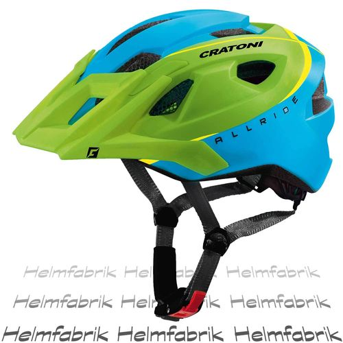 Mountainbike Helm Cratoni AllRide, green-blue matt, Gr. Uni (53-59 cm)