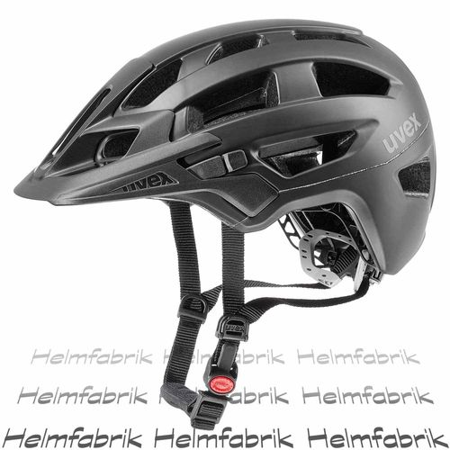 MTB All Mountain Fahrradhelm Uvex finale, black mat, Gr. 52-57 cm