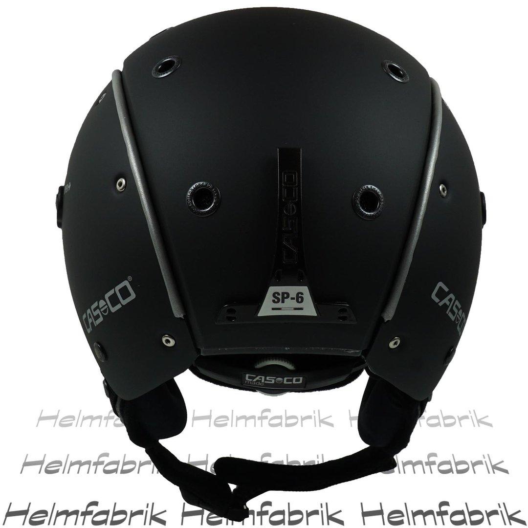 schwarz SP-6 AIRWOLF Farbe Casco