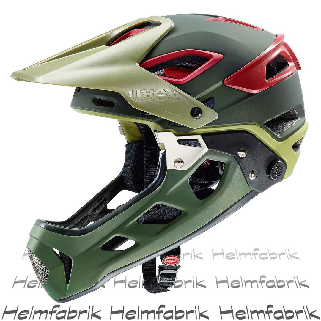 downhill helm mtb fullface helm uvex jakkyl hde. Black Bedroom Furniture Sets. Home Design Ideas