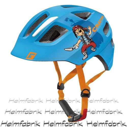 Fahrradhelm Kinder Cratoni Maxster, blue pirate glossy, Gr. S-M (51-56 cm)