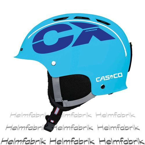 Skihelm für Kinder Casco CX-3 Junior, blau, Gr. S (50-55 cm)