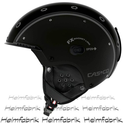 Skihelm Casco SP-3.2 Airwolf, schwarz, Gr. M (56-58 cm)