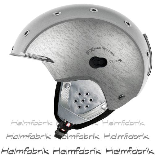 Skihelm Casco SP-3.2 Airwolf, silber, Gr. M (56-58 cm)