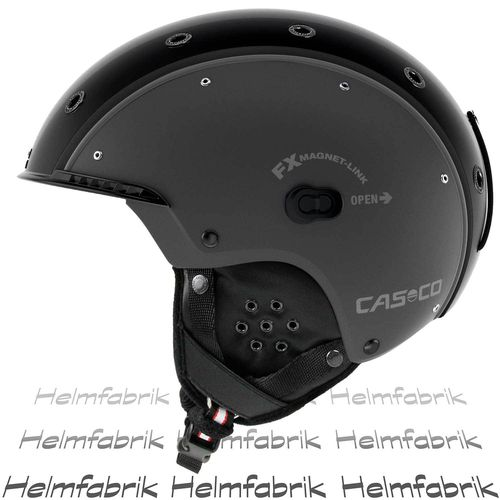 Skihelm Casco SP-3.2 Airwolf, gun metal, Gr. L (58-62 cm)