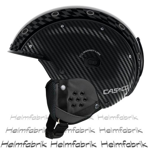 Skihelm Casco SP-3 Limited Edition Carbon, schwarz, Gr. M (54-58 cm)
