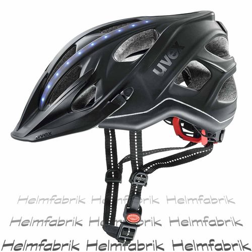 Fahrradhelm Uvex city light, anthrazit mat, Gr. 56-61 cm