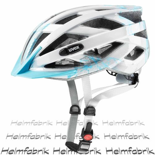 Kinderfahrradhelm Uvex air wing, lightblue-silver, Gr. Uni (52-57 cm)