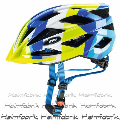 Fahrradhelm Uvex air wing, blue-green, Gr. Uni (52-57 cm)