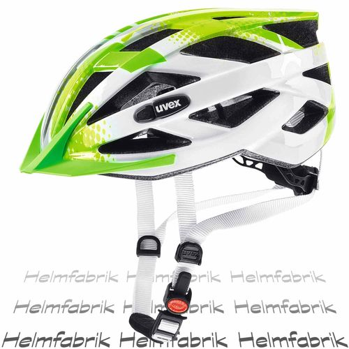 Fahrradhelm Uvex air wing, lime-white, Gr. Uni (52-57 cm)