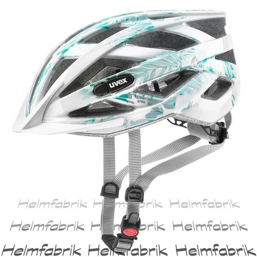 Radhelm für Kinder Uvex air wing, white-green, Gr. Uni (52-57 cm)