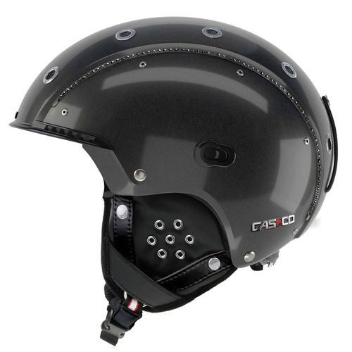 Skihelm Casco SP-3 Limited Edition Crystal, schwarz, M (56-58 cm)