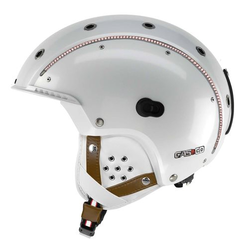 Skihelm Casco SP-3 Limited Edition Crystal, weiß, M (56-58 cm)