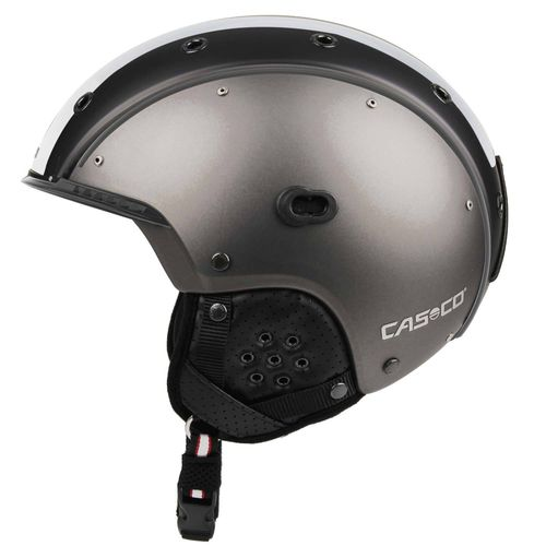 Skihelm Casco SP-3 Competition, gunmetal, Gr. L (58-62 cm)