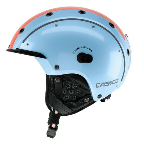 Skihelm Casco SP-3 Competition, blau-retro, Gr. M (56-58 cm)